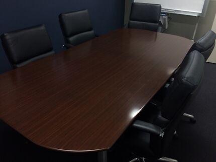Hardwood Boardroom Table Mosman Mosman Area Preview