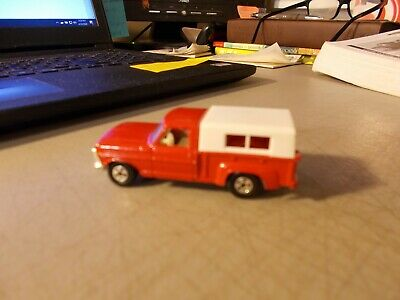 LESNEY MATCHBOX SUPERFAST #6 FORD PICKUP TRUCK + CAP THIN WHEELS 1970     CS#2