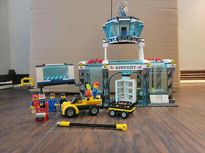 Lego 7894 Airport airliner plane jet airplane City Town NO BOX