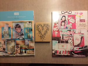 Stampin Up! Idea catalogues and stamp