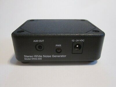 Stereo True-random Analog White Noise Generator Sound Machine