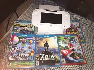 Wii U with 18 Games