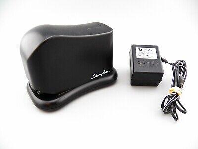 Swingline Electric Stapler W Ac Power Cord Model 211xx Black Office Desk Works