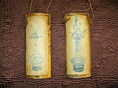 2 Vintage Gold Master Florentine gold Gilt Wall Plaques Made In USA