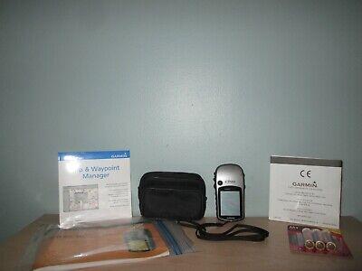 Garmin eTrex Vista HCx Handheld GPS with Case & Manual