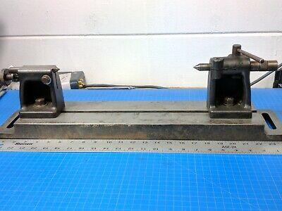 Vintage Hardinge Bench Center Inspection Tailstock Footstock Workholding Base
