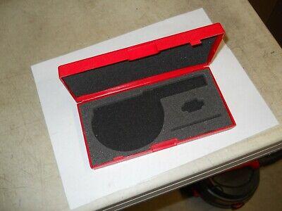 Starrett Micrometer Storage Case 1-2 Micrometer Case  1 Case  New Sale