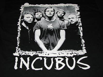 Incubus Fall 2009 Concert Tour Adult Large Short Sleeve T-Shirt Front & Back