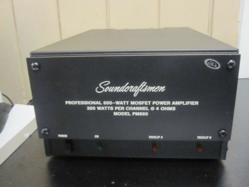 Soundcraftsmen PM860 power amplifier *FULLY SERVICED*
