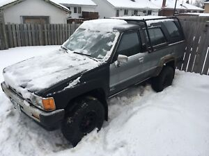 1989 Toyota 4Runner. Good for project, parts or bush buggy