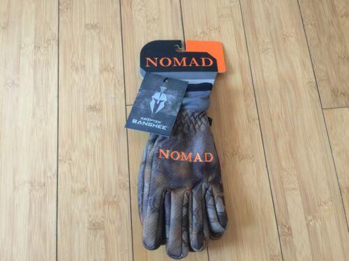 Nomad Hunting Harvester Gloves Size Small - Kryptek Banshee