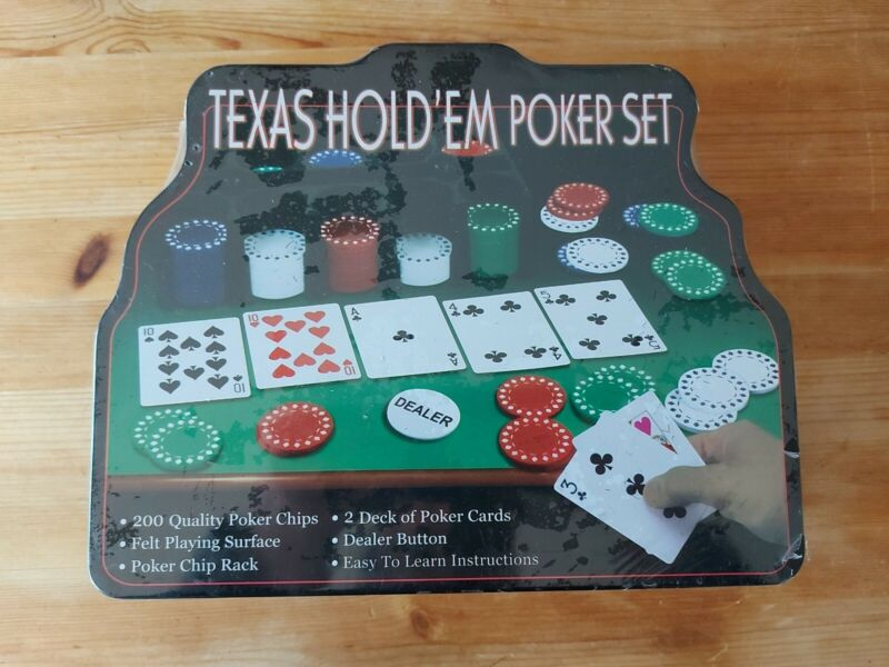 200PC Chips TEXAS HOLD