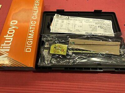 New Mitutoyo 6 Digital Caliper Od Carbide Jaw Machinist Tool P451