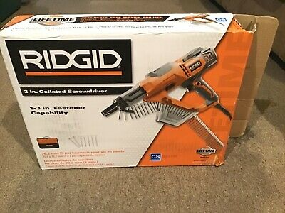 Ridgid 3in Collated Screwdriver Drywall Deck R6791