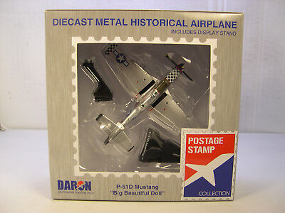 WWII P51D MUSTANG BIG BEAUTIFUL DOLL DARON 1:100 SCALE DIECAST DISPLAY AIRPLANE for sale  Shipping to Canada