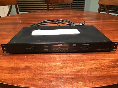 APC G5 Power Filter, Black, Rack Mountable with Ears, Input 120V, 9-outlets