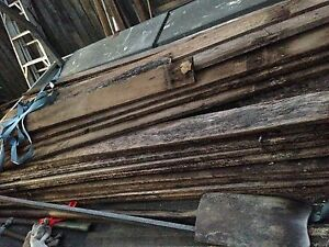 Old palings fire wood repair shabby chic Concord West Canada Bay Area Preview