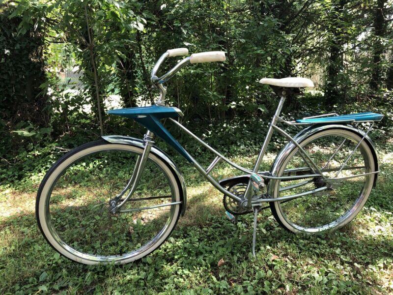 """1965-68 Rare Vintage 26"""" JC Higgins Spaceliner bicycle"""