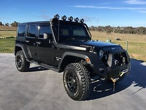 Jeep Wrangler 2012 - SUPERCHARGED Murrumbateman Yass Valley Preview