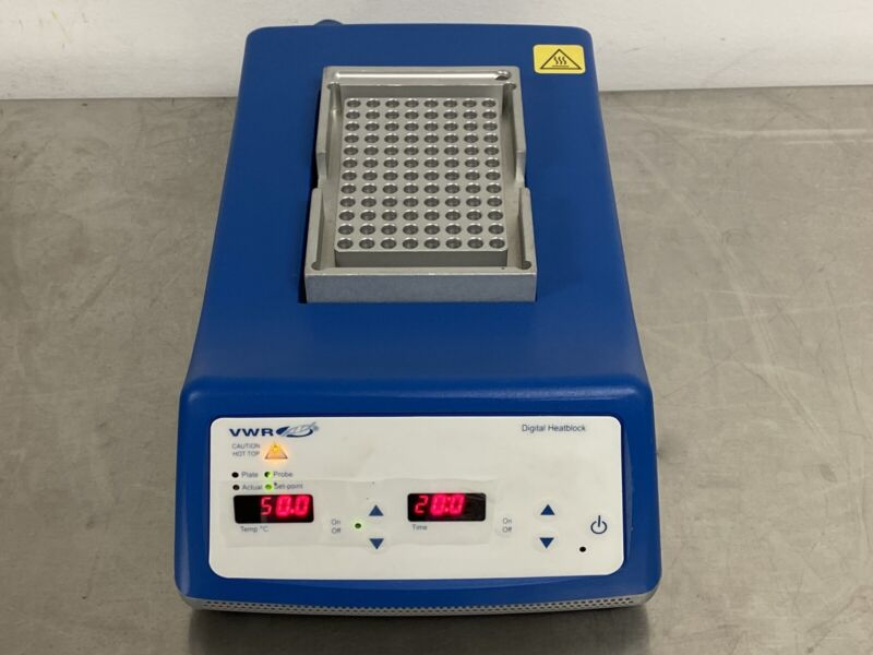 VWR Scientific 75838-282 Advanced Dry Block Heater Pre-owned Tested Excellent