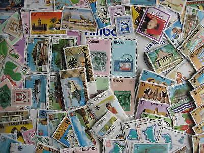 Kiribati 79 different MNH stamps, souvenir sheets, worth a look!