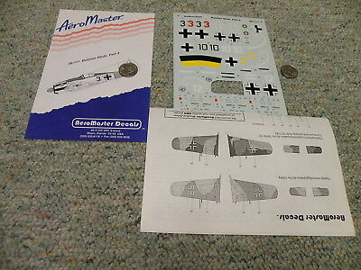 Aeromaster decals 1/48 48-111 Butcher Birds Part 4 L87