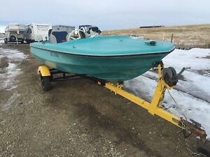 Boat, motor, trailer all for $700