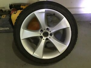 275 40R20 Winter Tires and OEM BMW X5/X6 Rims (Set of 4).