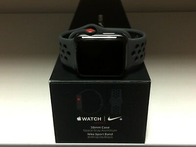 NEW Apple Watch Series 3 38mm Nike Vicious Sport Band GPS+Cellular Honest OEM