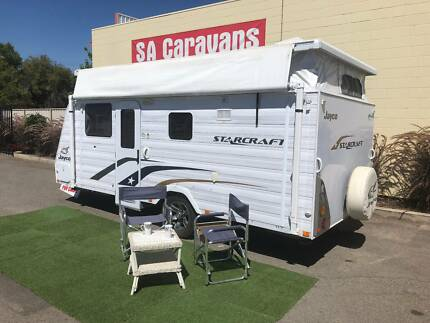 JAYCO STARCRAFT 16' POP TOP with REAR ENSUITE