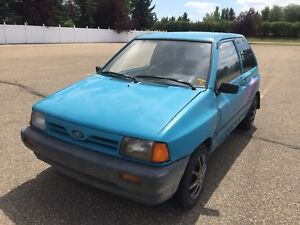Ford Festiva L | Very Fun Car!