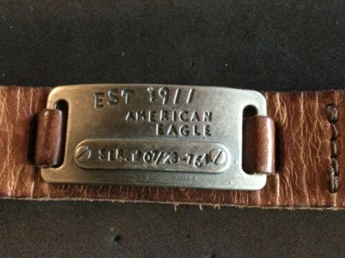 AMERICAN EAGLE BRAND BRACELET WRIST BAND CUFF LEATHER