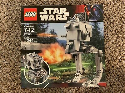 LEGO Star Wars AT-ST 7657 New Factory Sealed