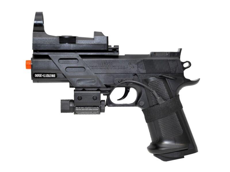 Colt MK IV Spring Airsoft Pistol Kit without target
