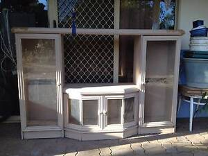 TV Cabinet with glass re-arrangeable shelving York York Area Preview