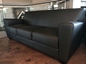 Leather Sofa and 2 Matching Chairs (BRAND NEW)