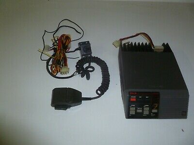 Ge Mls Ii Axa9hh-mlsl161 29.7-42 Mhz Low Band 60 Watt Two Way Radio W Hand Mic