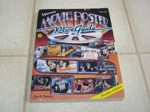 Movie Poster Price Guide, Jon R. Warren 1986