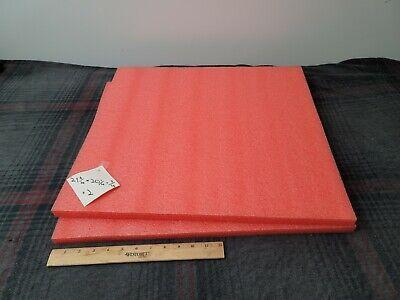 2 Polyethylene Foam Sheets 21-34 20-14 34
