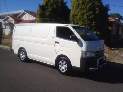 Toyota Hiace LWB 2010 Automatic, a/c, p/s, 1 Owner, Extra Clean!! Lidcombe Auburn Area Preview