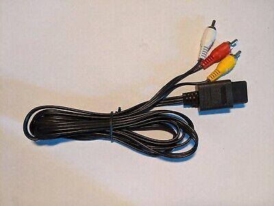 AV cable/TV hookup for Nintendo 64/N64, Gamecube and Super Nintendo/SNES