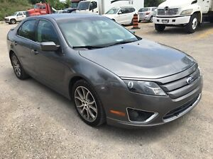 """2012 Ford Fusion.. Low km..no rust..18""""Alloy rims"""