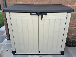 Keter-Store-It-Out-Max-XL-Plastic-Garden-Storage-Unit-Shed-Full-2-Year-Guarantee