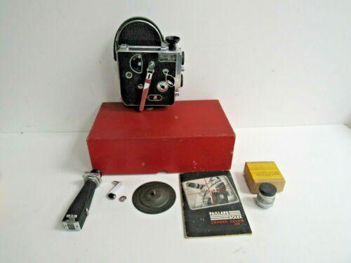 Paillard Bolex Movie Camera H9-H16 H8 w/Manual, Extras and Original Box