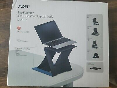 Moft Z The Foldable 5 In 1 Sit And Stand Laptop Desk...