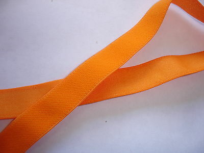 10m Gummiband 0,24€/m orange, Trägerband 16mm breit,  MP13