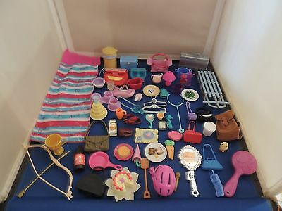Barbie Doll Accessories Large Mixed Lot Fashion & Activity