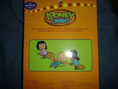 Hallmark Party Limbo Stick  Game with light spinner for Kids Fun party - Limbo Sticks