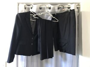 80635b3b Price dropped Cue Suit - 3 pieces - sz12 Jacket, sz 10 Skirt & pants ...
