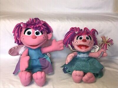 "Lot of 2 Sesame Street Abby Cadabby Plush Hasbro & 9"" Sesame Place Plush Doll, used for sale  Levittown"